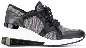 Michael Kors wedge-heel low top sneakers