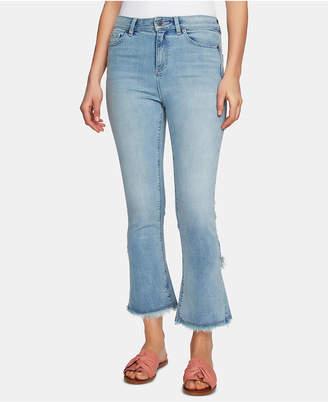 1 STATE 1.state Tulip-Hem Skinny Jeans