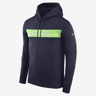 Nike Dri-FIT Therma (NFL Seahawks) Men's Pullover Hoodie