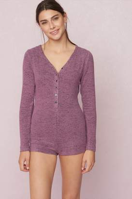 Garage Long Sleeve Sleep Romper - FINAL SALE