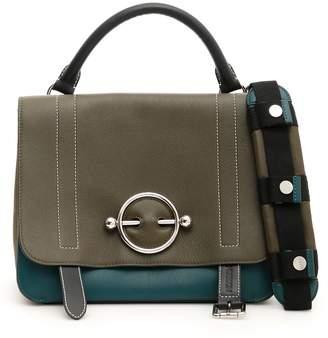 J.W.Anderson Tricolor Disc Satchel Bag
