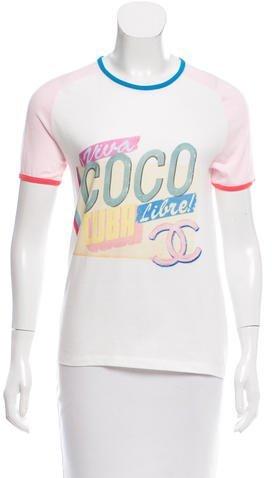 Chanel Cruise 2017 Coco Cuba T-Shirt w/ Tags