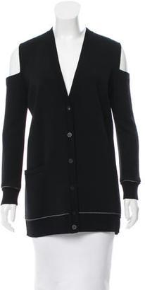 Vera Wang Cutout Knit Cardigan $125 thestylecure.com