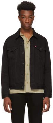 Levi's Levis Black Denim Trucker Jacket