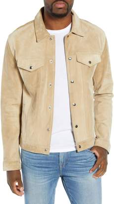 Frame Slim Fit Leather Western Jacket