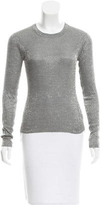 Rachel Roy Silk Embellished Top $65 thestylecure.com