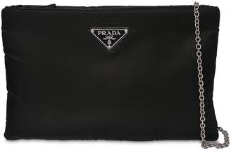 Prada Small Nylon Puffer Clutch