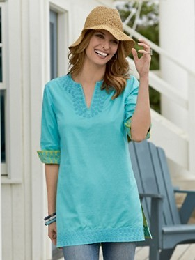 Pendleton Reversible Cotton Tunic
