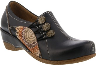 Spring Step L'Artiste Leather Slip-On Shoes - Agacia
