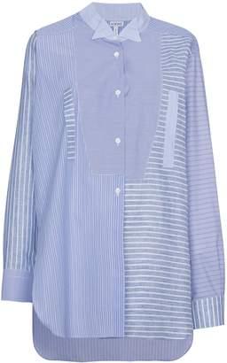 Loewe Striped Shirt With Asymmetric Hem