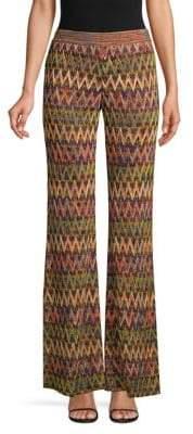 Missoni Textured Zig-Zag Flare Pants