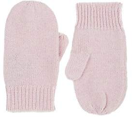 Barneys New York Kids' Cashmere Mittens - Cream