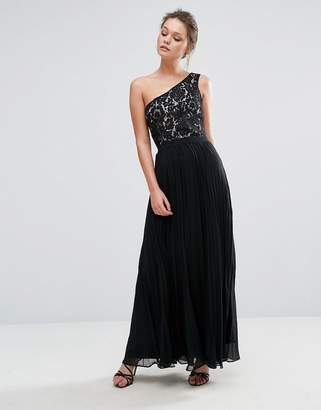 Oasis One Shouldered Maxi Dress $128 thestylecure.com