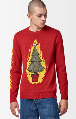 Volcom Warm Wishes Crew Neck Sweater