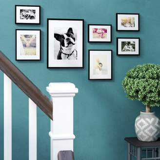 Andover Mills Abner 7 Piece Perfect Wall Picture Frame Set