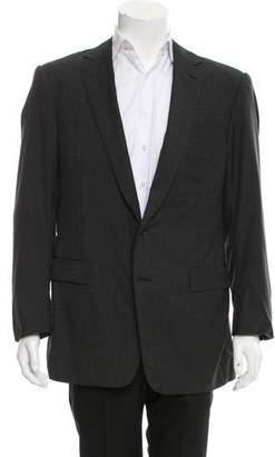 Ralph Lauren Black Label Wool Two-Button Blazer