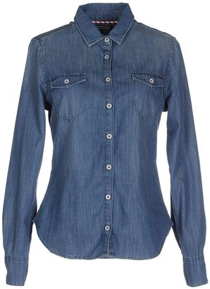 TOMMY HILFIGER Denim shirts $109 thestylecure.com