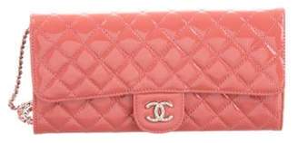 Chanel Patent Clutch On Chain Coral Patent Clutch On Chain