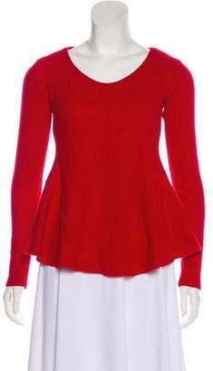 Sofia Cashmere A-Line Knit Sweater