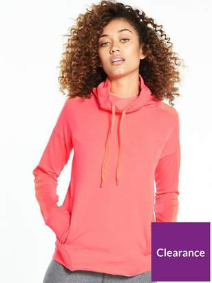 Under Armour Featherweight Funnel Neck Fleece - Coral
