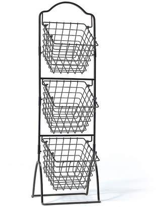 Mikasa General Store 3-Tier Market Basket