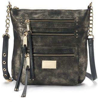 Juicy Couture Triple Zipper Crossbody Bag $69 thestylecure.com