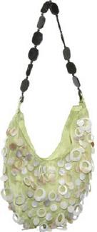 Global Elements Large Silk Handbag w/ Strap