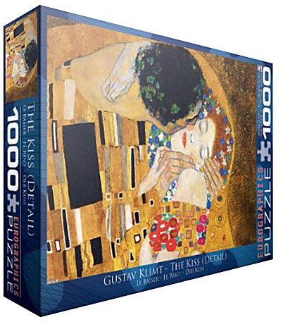 Gustav EuroGraphics The Kiss (Detail) by Klimt Puzzle (1000 pcs)