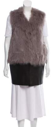 Ramy Brook Fox Fur Vest