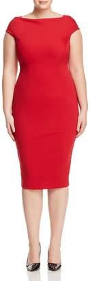 Marina Rinaldi Doryshapely Midi Pencil Dress