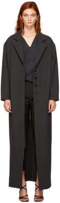 Jacquemus Black Le Manteau Almar Coat