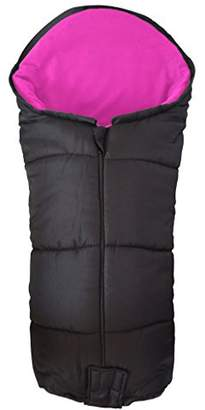 Möve Deluxe Footmuff/Cosy Toes Compatible with Kiddy City n Pushchair Pink