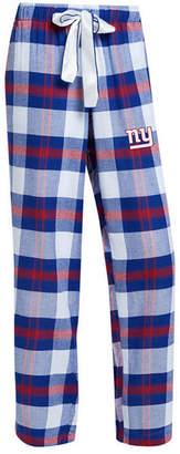 Concepts Sport Women's New York Giants Headway Flannel Pajama Pants