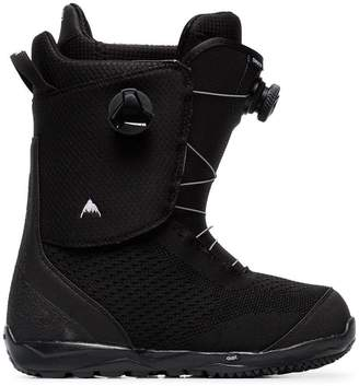 Burton Ak black swath boa boots