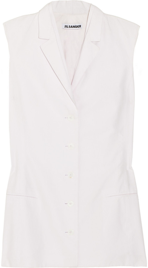 Jil Sander Cotton vest