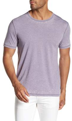 John Varvatos Crew Neck Short Sleeve Garment Dye Tee