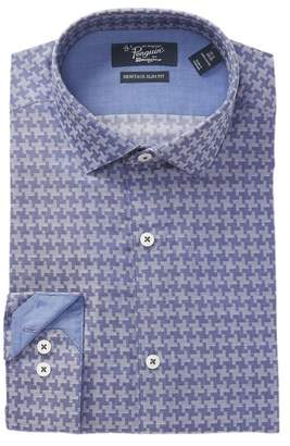 Original Penguin Geo Dobby Heritage Slim Fit Dress Shirt