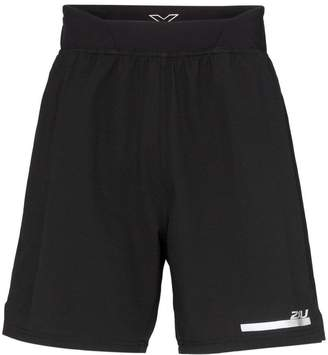 2XU 2 in 1 compression shorts