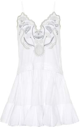 Chloé Sleeveless embroidered dress