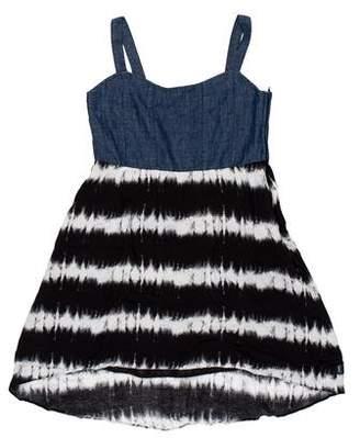 DKNY Sleeveless Patterned Top