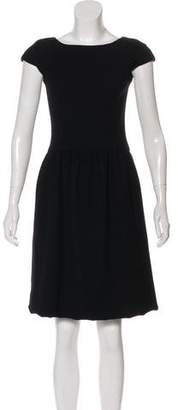 Ralph Lauren Purple Label Wool A-Line Dress