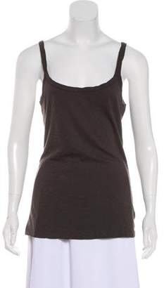 Velvet Sleeveless Scoop Neck Cami w/ Tags