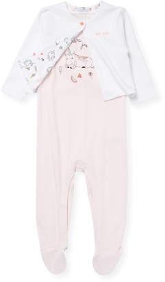 Little Marc Jacobs Two-Piece Graphic Pajama