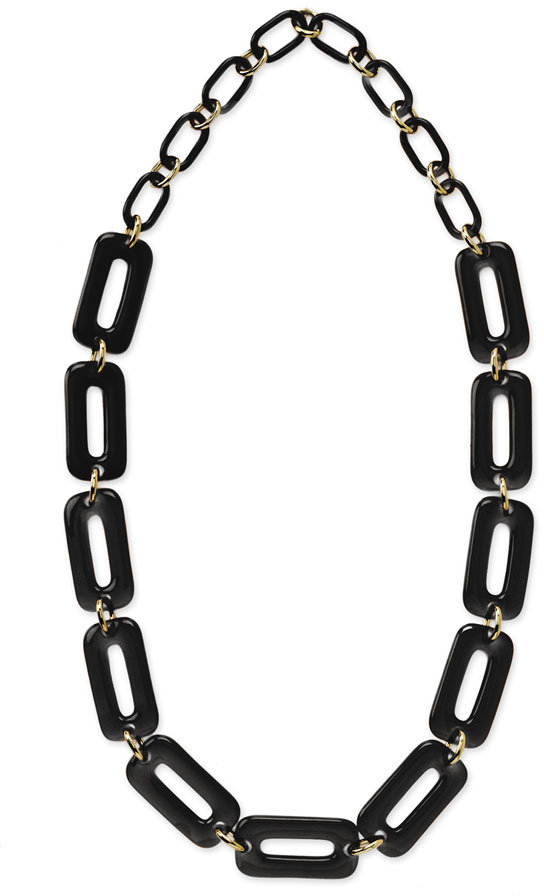 Kate Spade 'chain Reaction' Long Solid Link Necklace