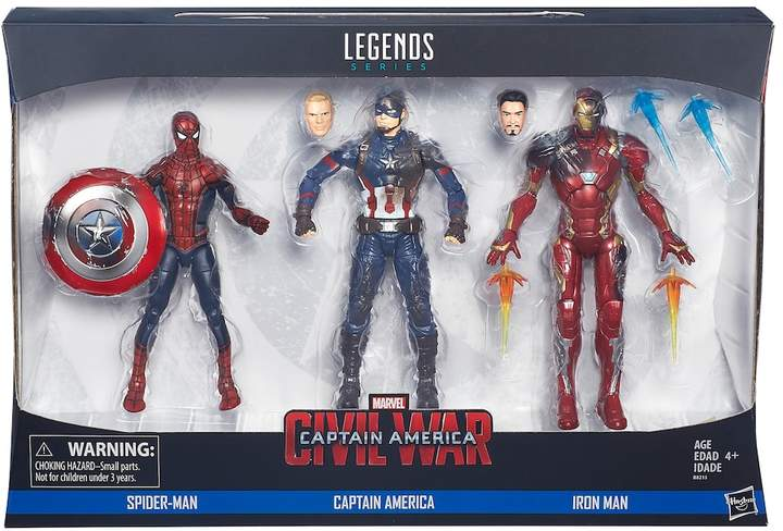 Hasbro Captain America: Civil War Marvel Legends 3-pk. Figures by Hasbro