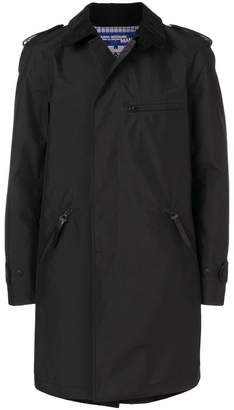 Junya Watanabe zip-detailed trench coat
