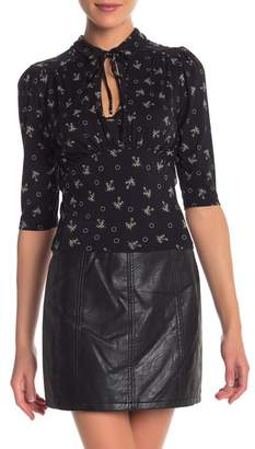 Free People Soraya Keyhole Top