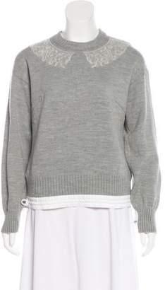 Sacai Luck Knit Wool Sweater
