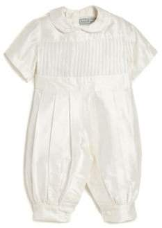 Isabel Garreton Baby's Tucker Pleated Christening Coverall