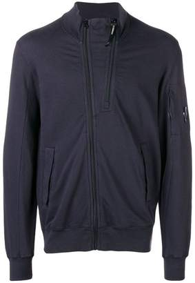 C.P. Company double zip sweatshirt